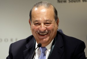 Mexico's Carlos Slim was unseated by Warren Buffett as the world's second richest man.