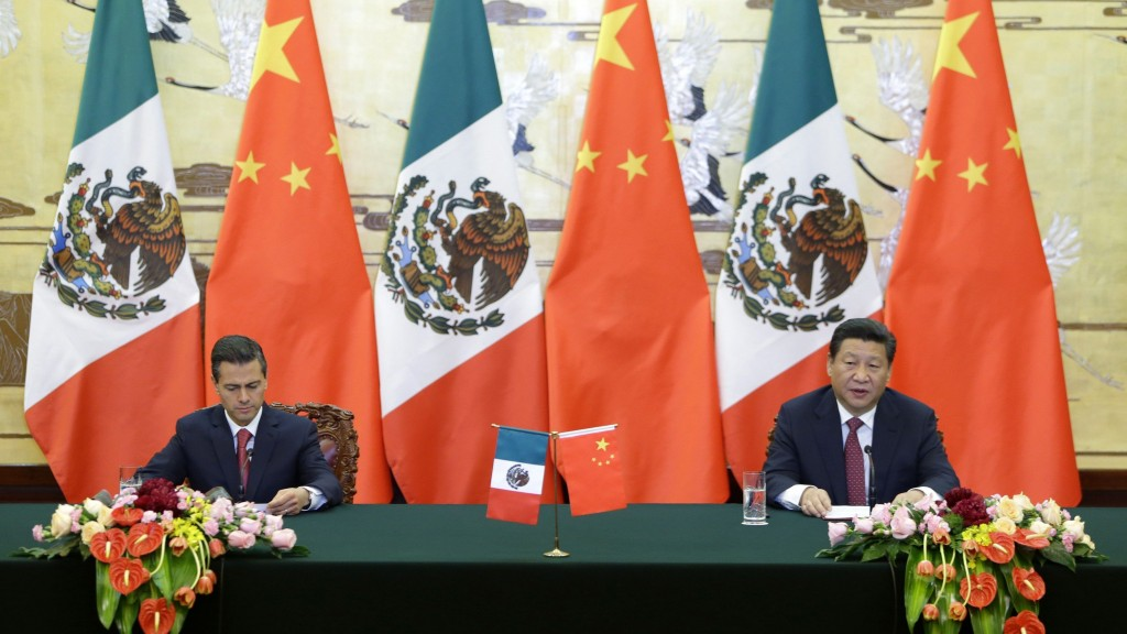 China and Mexico have been talking about getting closer for years, yet the results have so far been modest.