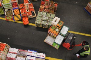 A variety of Mexican food products ready for export to the U.S.